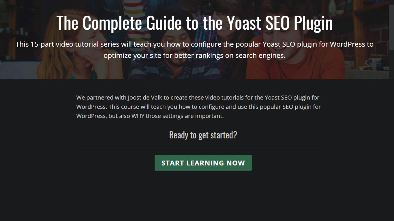 Easy Video Tutorials for the Yoast SEO Plugin